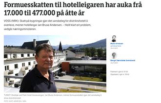 Faksimile fra NRK