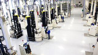 Innerst i Sognefjorden: Her vil de tidoble produksjonen av solcelle-materialet