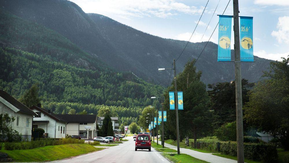 Nesbyen topper ofte listen når det gjelder temperatur i Norge, men var også den kommunen som hadde høyest lekkasjeprosent fra vannettet i 2015.