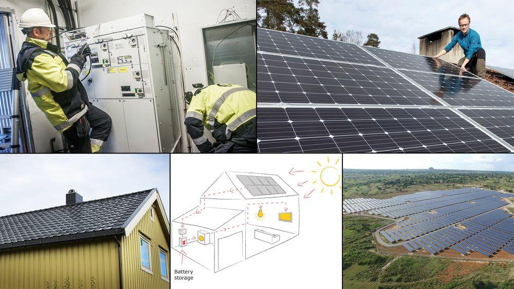 Solenergi begynner å bli en mer moden teknologi, og utfordringene fremover handler blant annet om å utvikle batteriteknologi for lagring av solstrøm og å bygge ut strømnett som kan ta imot solenergi fra småskalaprodusenter.