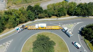 Sendte beholder på 2333 mil lang triatlon for å sjekke risiko ved frakt av kjernavfall