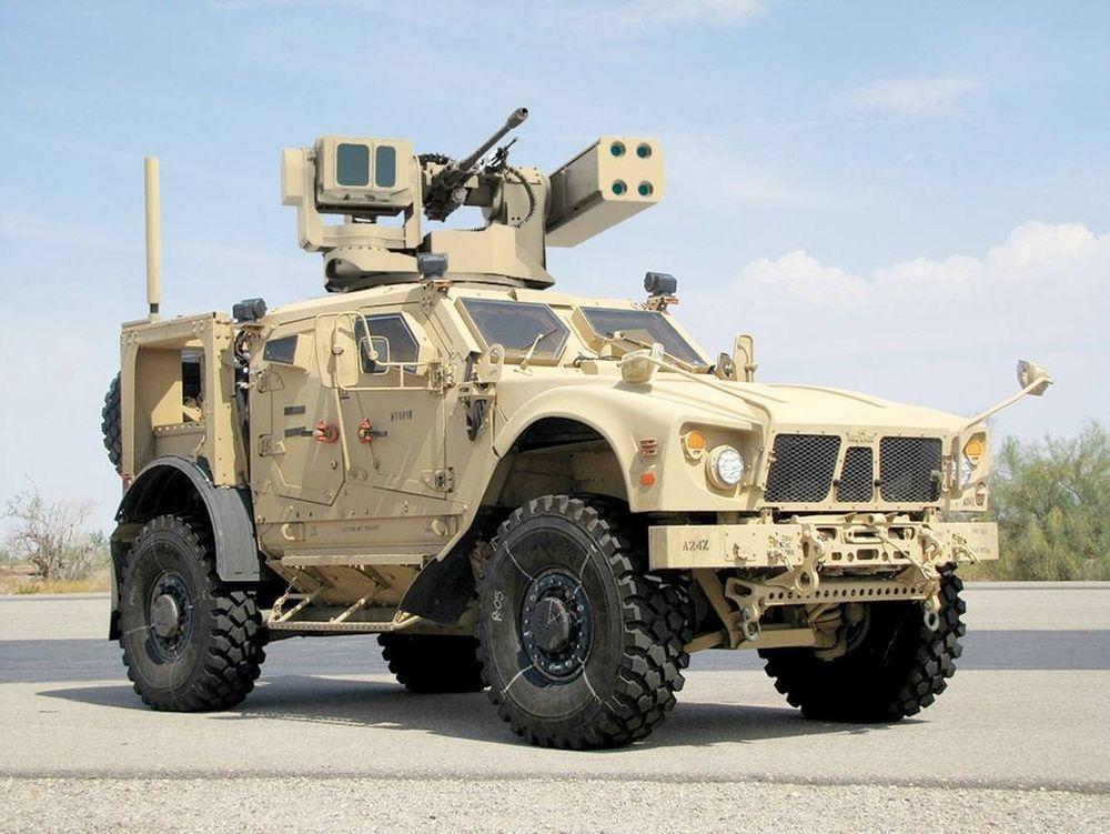 Leonardo DRS utvikler et kjøretøybåret system som kan slå ut små droner.