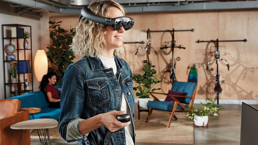 NESTEN MAGISK: De nye AR-brillene Magic Leap One er nå på markdet.