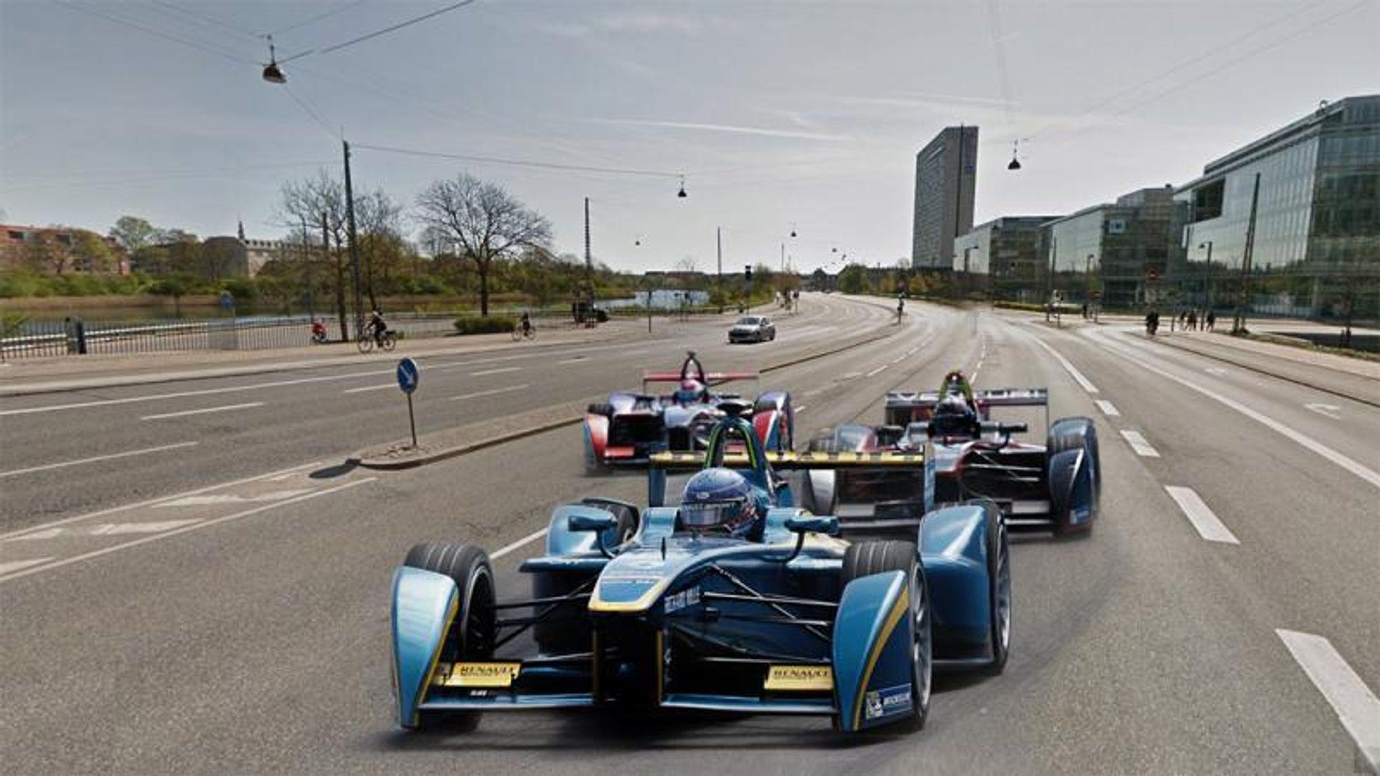 London, Berlin og Miami legger veier for E-Grand Prix. Blir København neste destinasjon for det elektriske racerløpet?