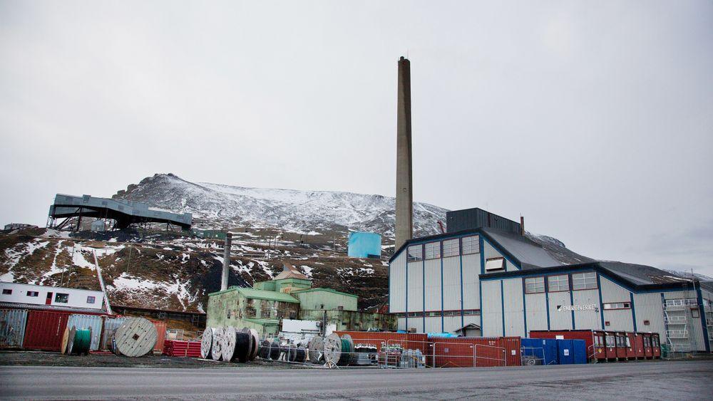 Det statseide kullselskapet Store Norske Spitsbergen Kullkompani på Svalbard.