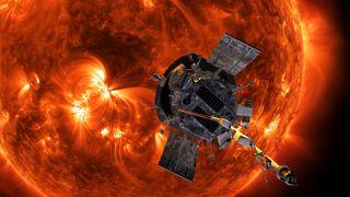 Nasa skjøt opp ny sonde: Skal bevege seg historisk nær solas overflate