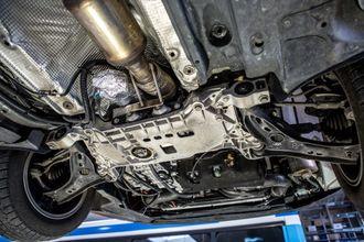 BNOX-systemet ettermontert på en eldre Volkswagen Passat.