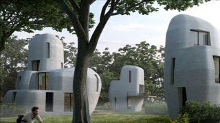 3D-printer avanserte boliger i betong - gir helt nye muligheter for design