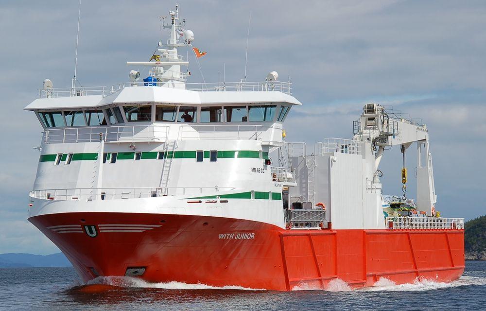 With Junior er ett av skipene i flåten til Egil Ulvan Rederi. Skipet er bygget i 2009 ved Moen Slip. Skipet er 66,7 meter langt og stikker 5,25 meter dypt. Det har plass til 12 frysecontainere, derav tre under dekk.