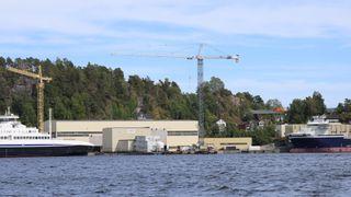 Verdens første autonome containerskip skal bygges i Norge