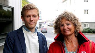 Sindre Borgund og Pia Friis i Kanvas jobber sammen for trygge barn.