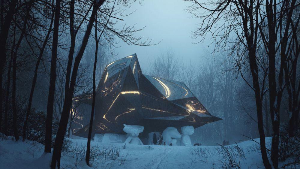 «A House to Die In» skulle være et samarbeidsprosjekt mellom kunstneren Bjarne Melgaard, arkitektkontoret Snøhetta og enteprenørene Olav og Fredrik Selvaag.