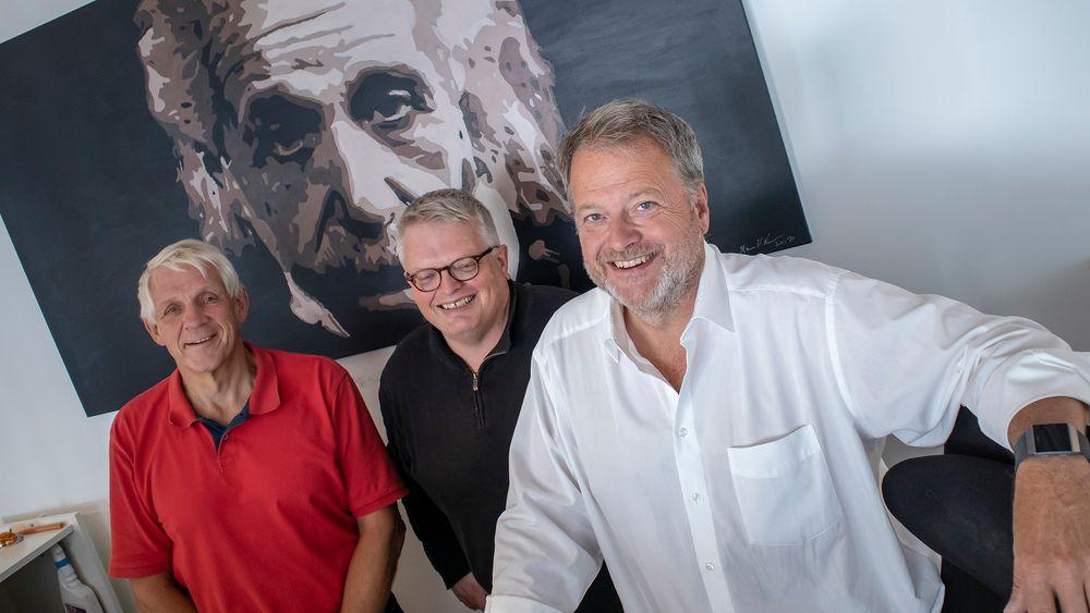SPESIAL: Med Odd Richard Valmot, Eirik Newth og Jan M. Moberg.