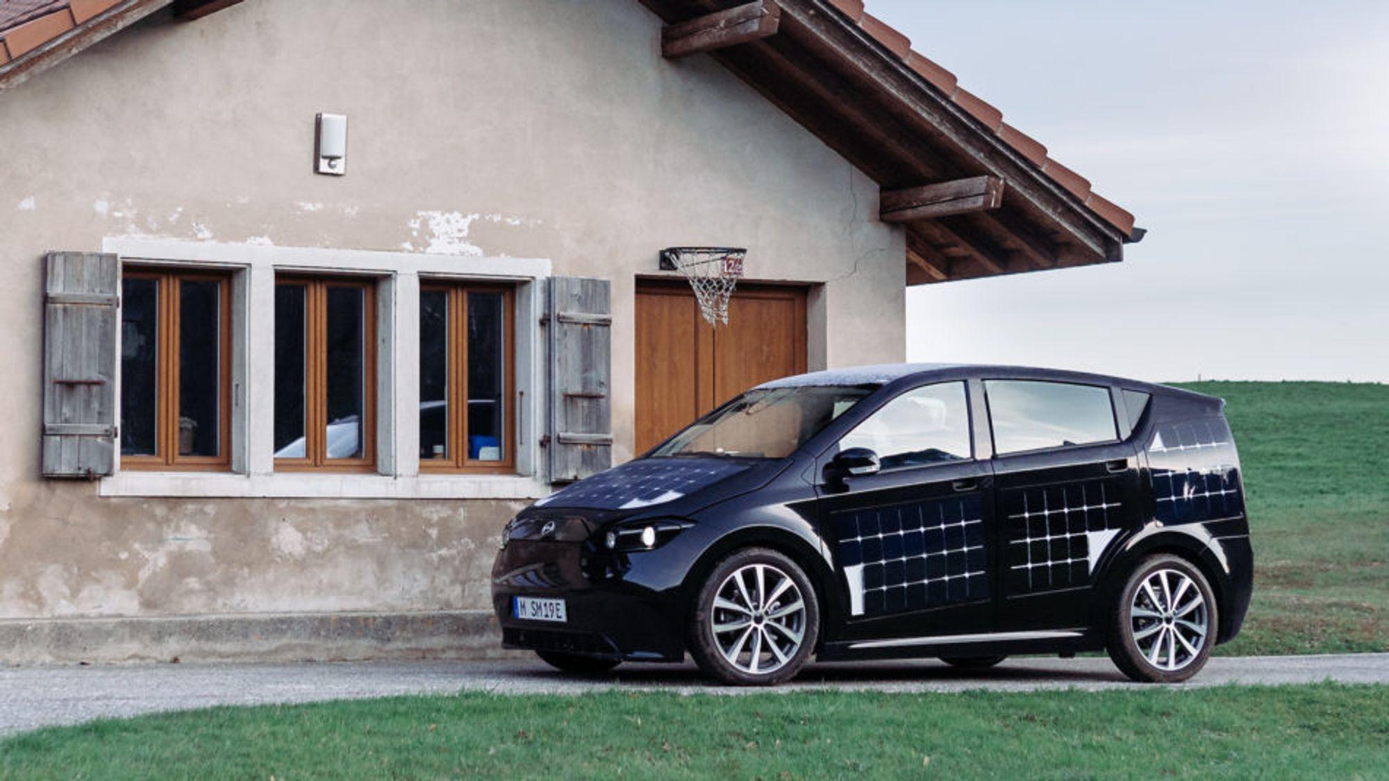 Med økt pris på batteriet, er det solcellene og ikke prisen som vil gi Sion en fordel sammenlignet med vanlige elbiler.