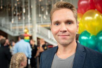 Programleder Jens Christian Nørve i Åsted Norge på TV 2