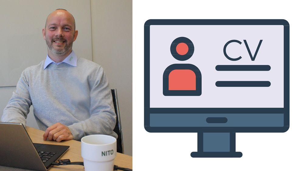 Erik Devold i Nito har holdt jobbsøkerkurs for ingeniører i en årrekke, og har noen gode råd om å skrive en CV som funker.