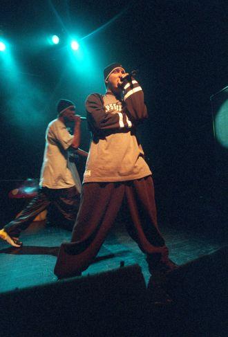 Eminem på sin første konsert i Oslo i 1999