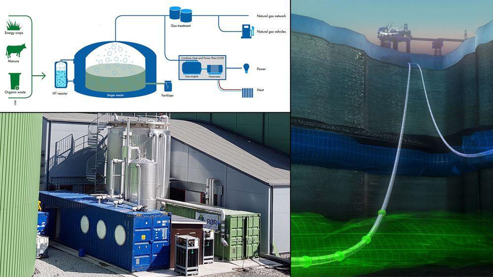Norske Hyperthermics skal ta i bruk mikroorganismer fra oljebrønneri sin unike biogassteknologi.