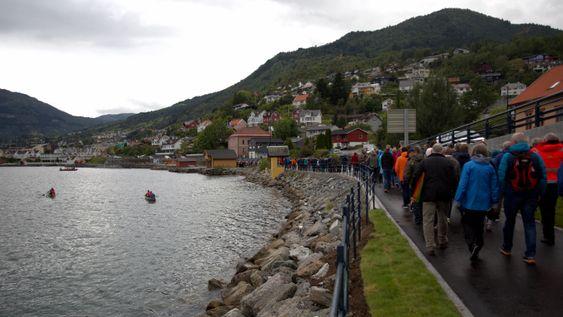 Fjordstien i Sogndal