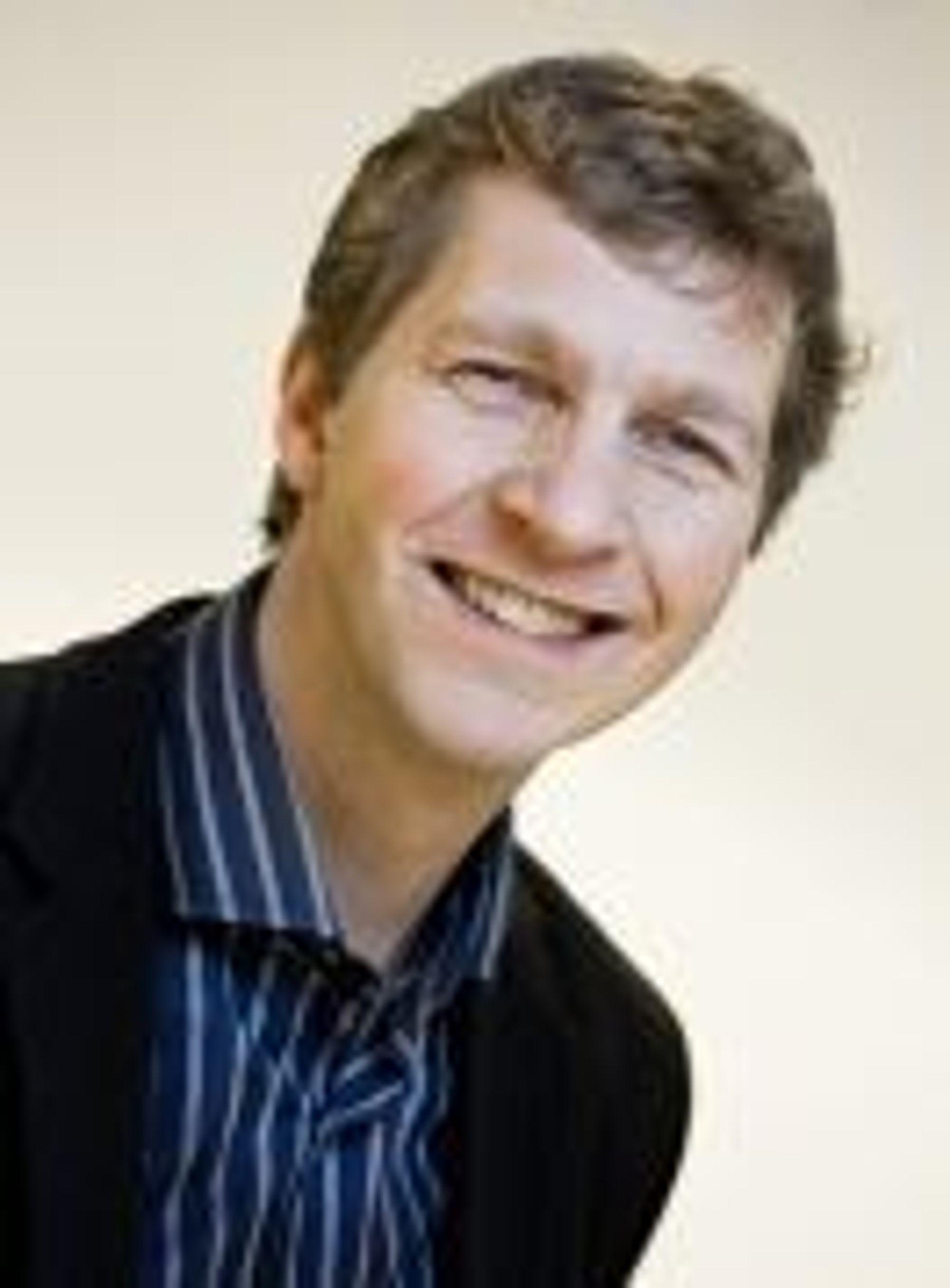 Kommunikasjonssjef Ole Berthelsen i OED.