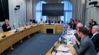 Erna Solberg om terrorsikring: - Vi ga upresis informasjon