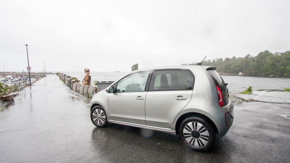 Volkswagen e-Up er populær på bruktbilmarkedet.