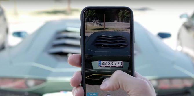 Ser du en rå bil på gaten, kan du skanne den inn for å legge den i samlingen din.