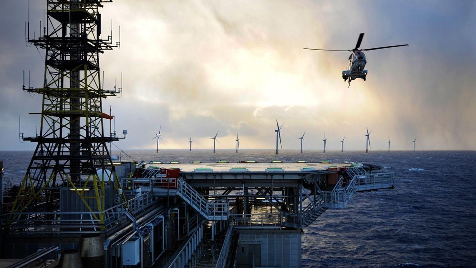 Equinor og partnerne på Gullfaks og Snorre ser på muligheten for å forsyne plattfomene på feltene med strøm fra flytende havvind.
