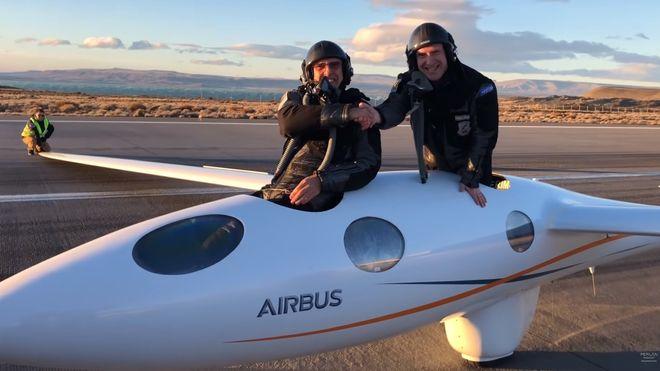 De to flygerne brøt Armstrongs grense med seilfly og satte ny høyderekord
