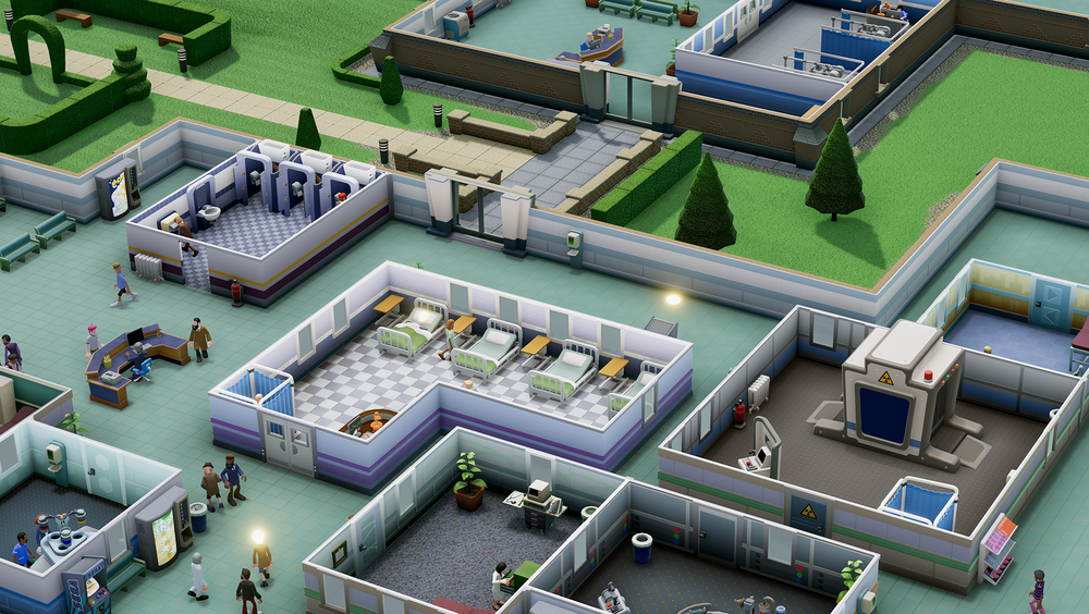 ANMELDELSE: Two Point Hospital