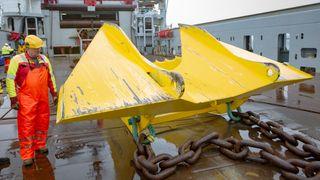 Haikjeft-ankeret er spesialutviklet for å skjære seg ned i de hardeste bunnforhold