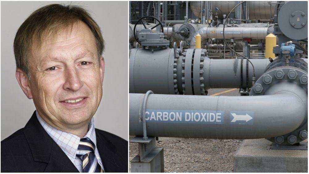 Erik Lorange mener at noe karbonutslipp bør være akseptabelt.
