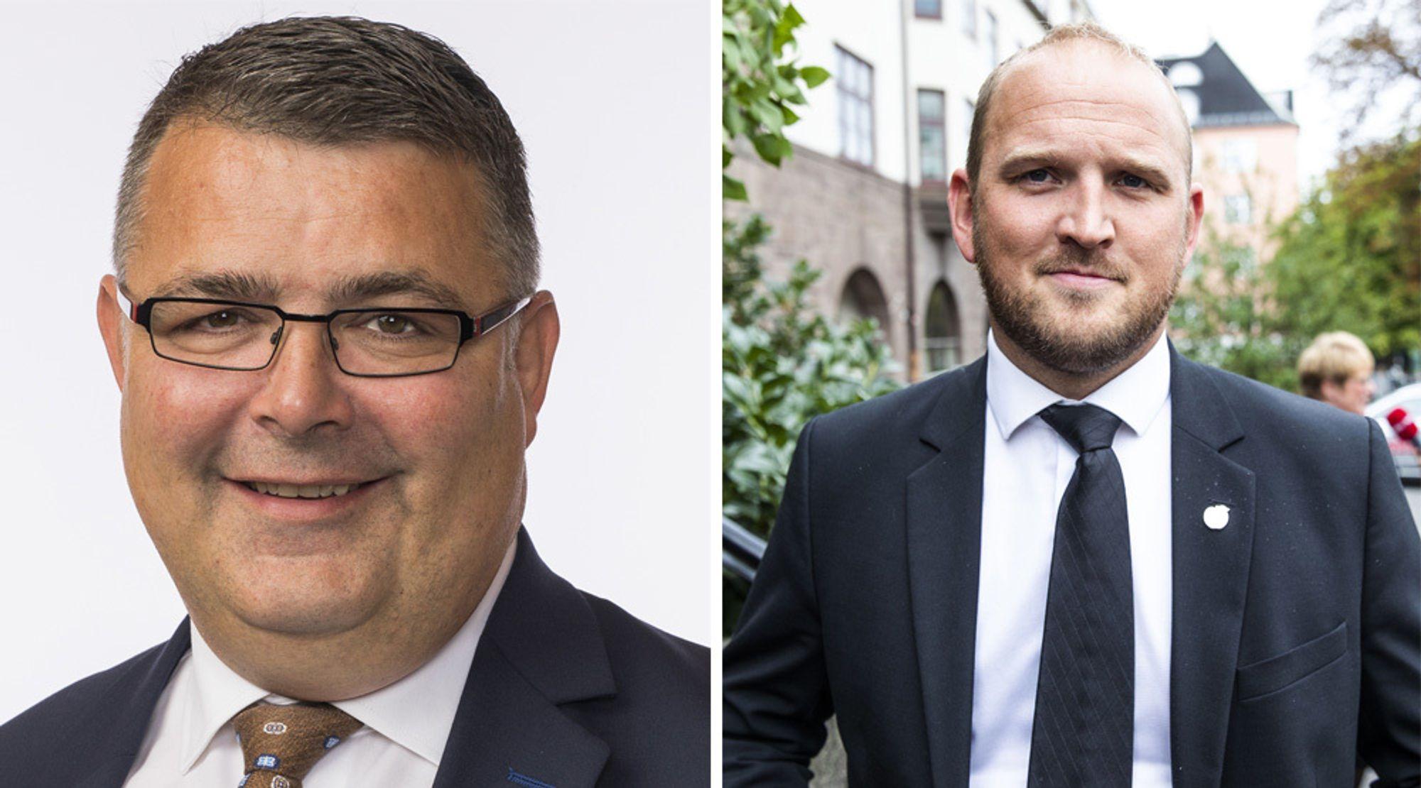 Kjell Børge-Freiberg og Jon-Georg Dale, begge fra Frp, overtar for Søviknes og Solvik-Olsen.