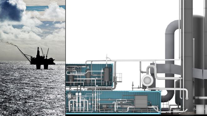 Har teknologien klar: Vil fange CO2 fra offshore gassturbiner