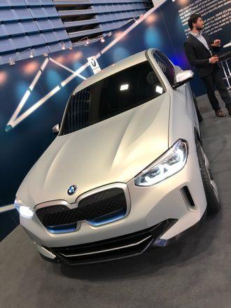 BMW iX3 på ONS i Stavanger.