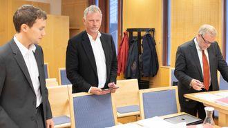 Vegar Robertsen, Odd Storm-Paulsen og Jon Wessel-Aas. Foto.