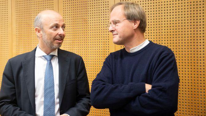 Halvor Manshaus og Håkon Wium Lie