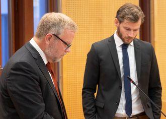 Jon Wessel-Aas og Vegar Waage. Foto.