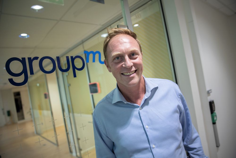 Martin Bentzen er CEO for GroupM i Norge.