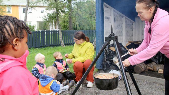 Asphaugen barnehage, Friluftslivets uke.