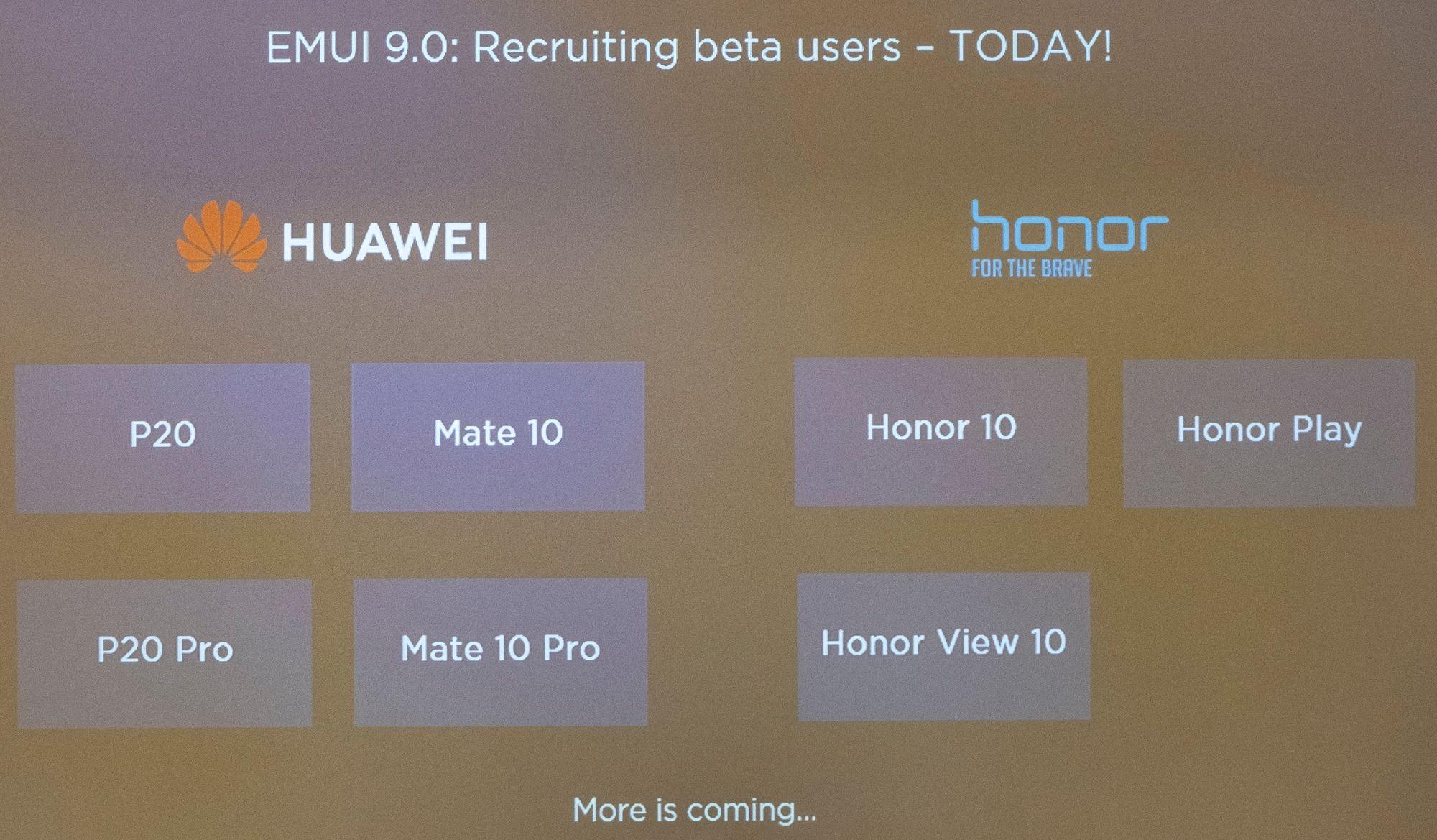 SNIKTITT: Huawei EMUI 9 Nå oppdaterer Huawei mobilene sine