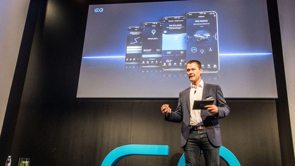 Appen lar deg sjekke om du egentlig kunne kjørt elbil, ifølge Mercedes EQs salgsdirektør J
