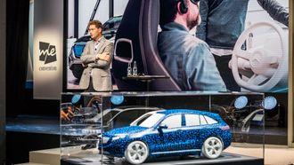 Ola Källenius forteller om hvordan de har utviklet den nye bilen.