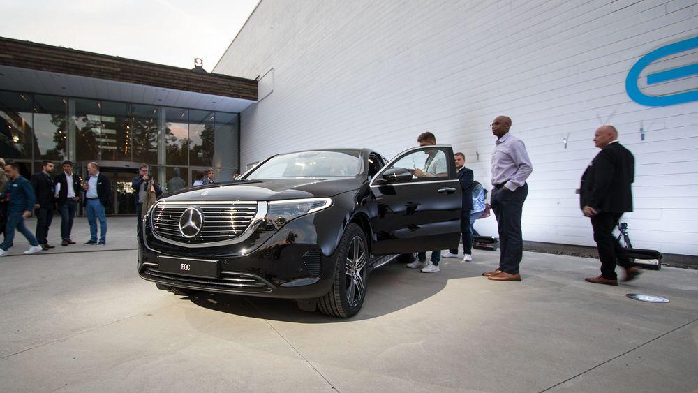 Mercedes-Benz EQC i sort.