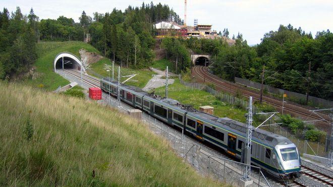 I 2022 skal nytt dobbeltspor til Eidsvoll stå klart. Arbeidet begynner i år