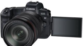 Canon lanserte sin speilløse utfordrer til Nikons nye fullformat