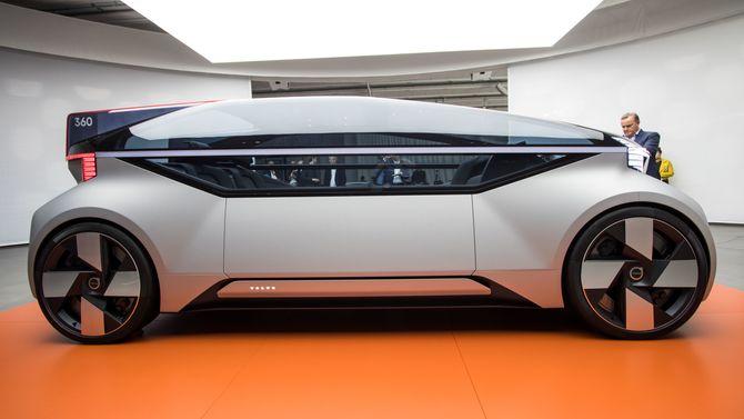 360c er en konseptbil, og en visjon for fremtidens selvkjørende biler fra svenskene.