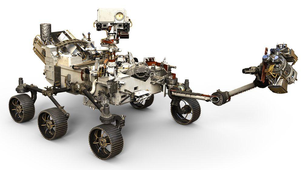 Klar på Mars i 2021: Om tre år skal Mars 2020 Rover se etter liv eller livsbetingelser på Mars.