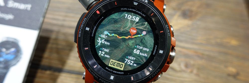 Casio Pro Trek Smart WSD F30