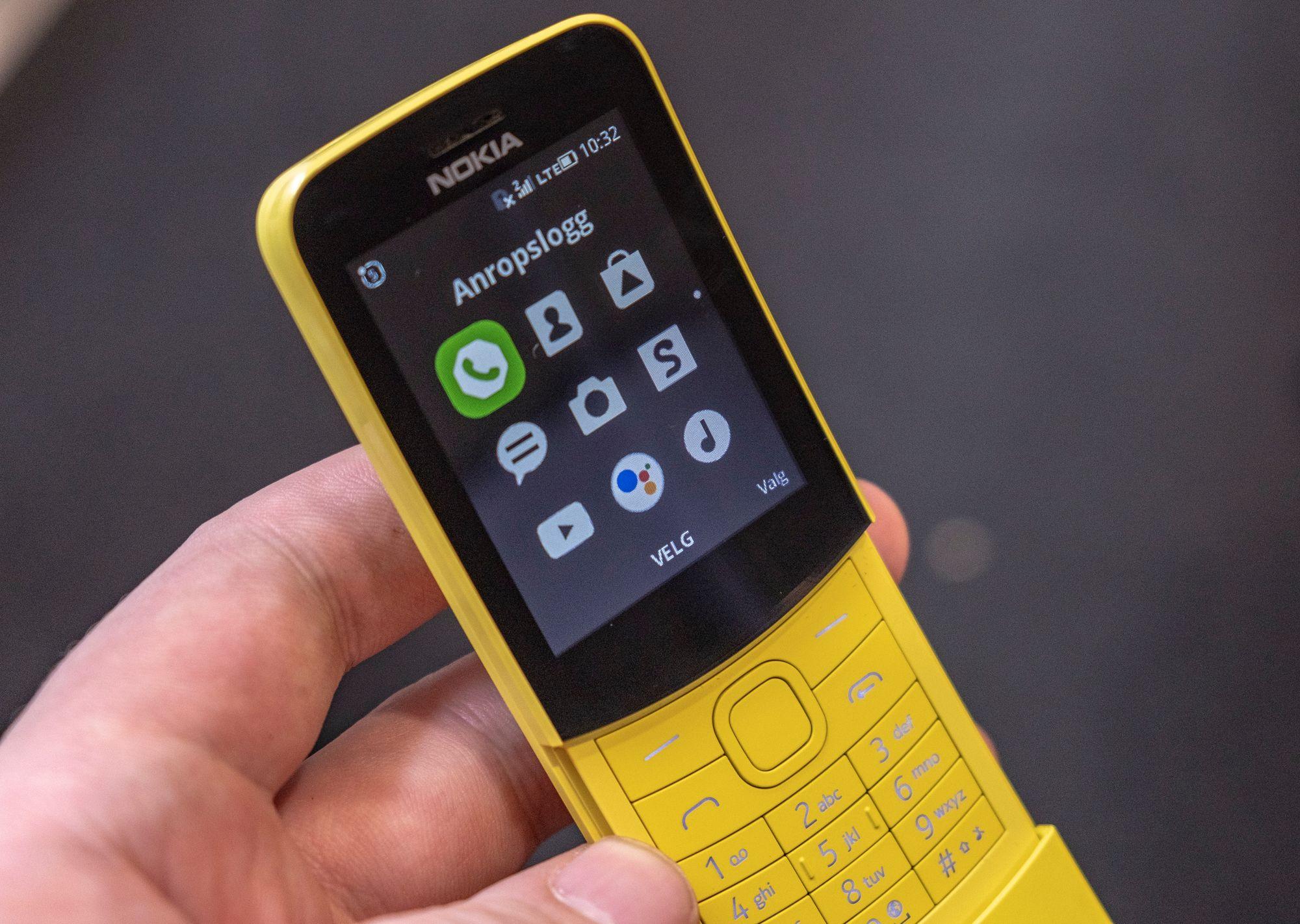 Nokia stadar i toppen